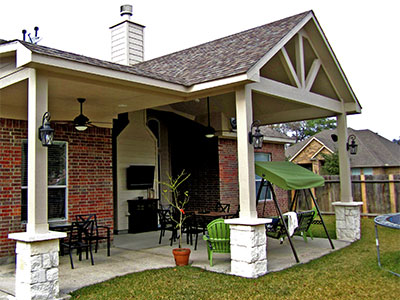 Covered Patios Tomball Houston